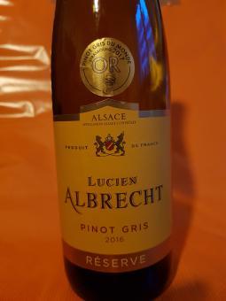 2016er Alsace Pinot Gris ( halbtrocken )