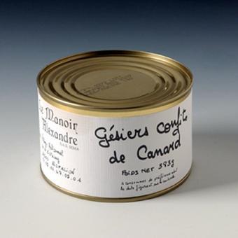 Gésier de Canard (Ente-Muskelmagen) confits 383g