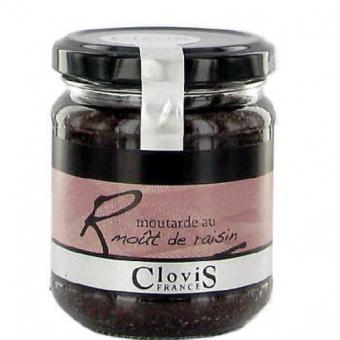 Reims-Senf mit rotem Traubenmost(43%)
