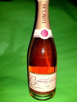 Champagne Brut Rosé de Cuvée