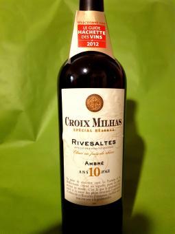 """VDN Rivesaltes Ambré 10 J. AOC - Réserve """"La Croix Milhas"""""""