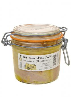 Exklusives Premium-Gänse-Foie Gras Entier (am Stück) im Glas 350g