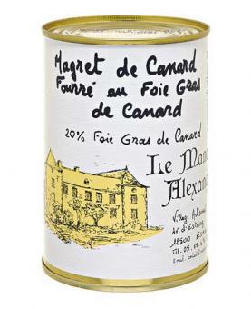 Magret de Canard au Foie-Gras - eingemachte Entenbrust mit 20% Foie-Gras 383g