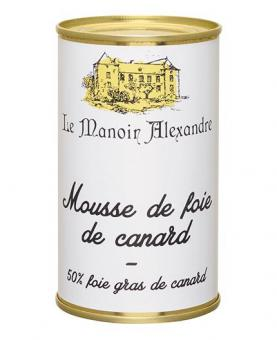 Edle Entenlebermousse - Mousse de Foie Gras de Canard 200g - 50% Foie-Gras