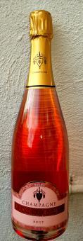 Champagne Rosé Brut de Cuvée (Chardonnay & Pinot Noir)