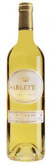 """Bordeaux edelsüss Sauternes : 2012er """"Les Sablettes"""""""
